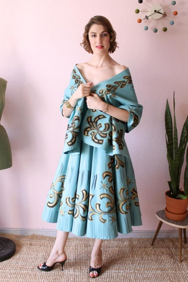 Mexican Handpainted dress 6