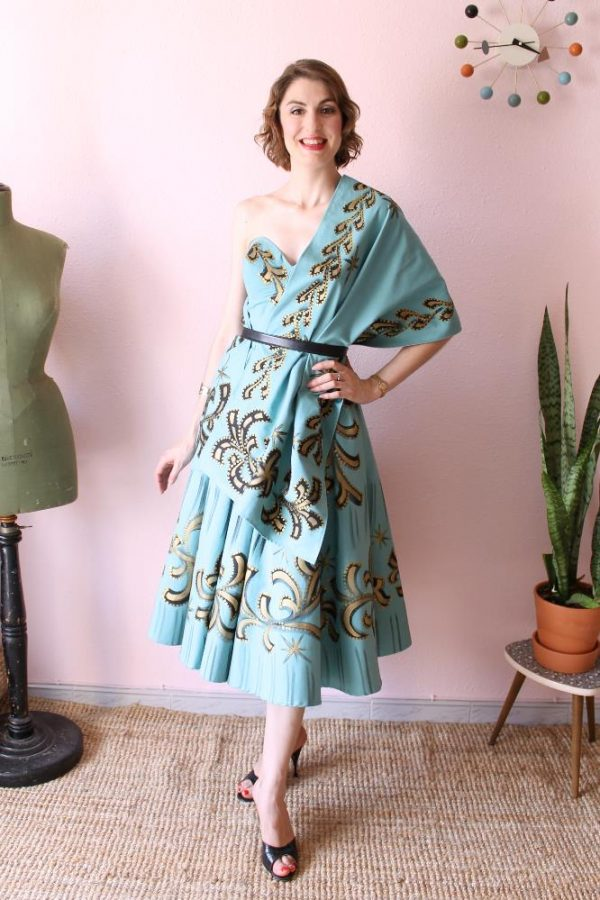 Mexican Handpainted dress 7