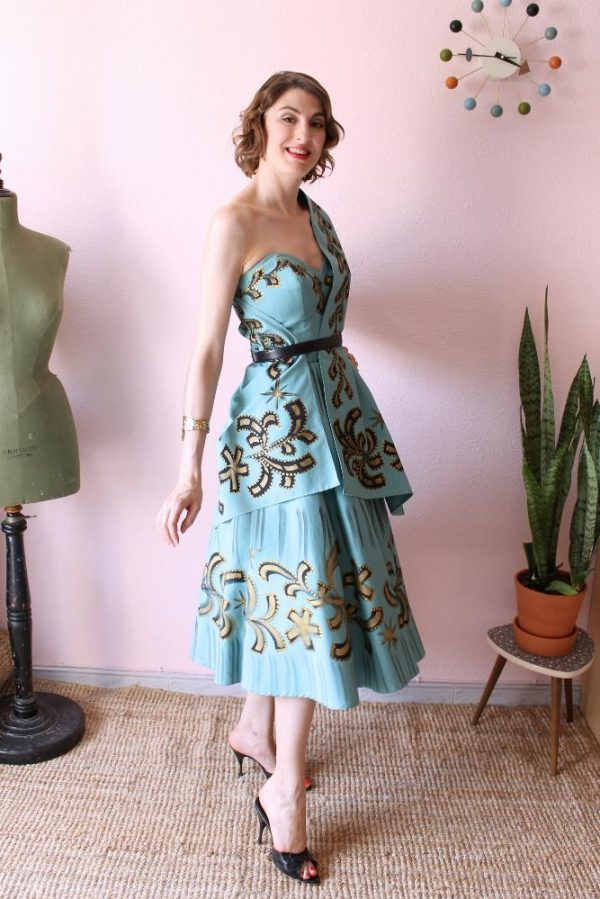 Mexican Handpainted dress 8