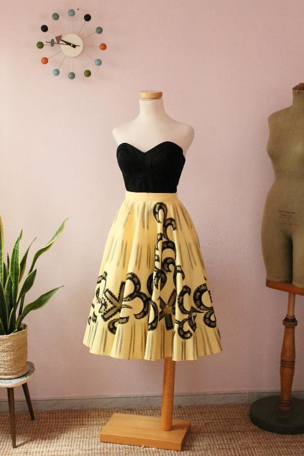 Mexican Handpainted skirt12
