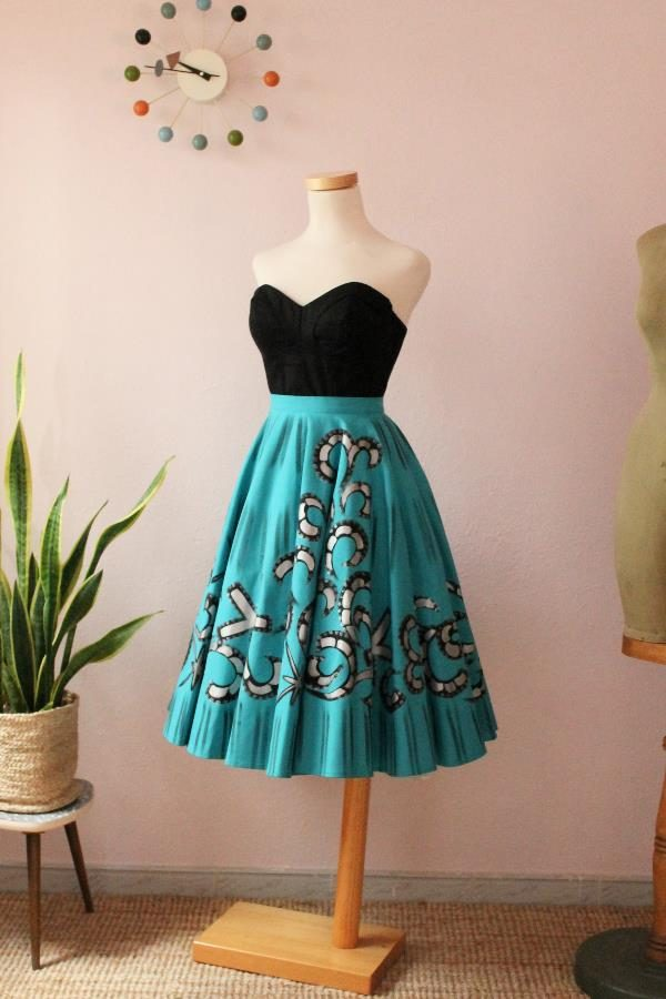 Mexican Handpainted skirt19