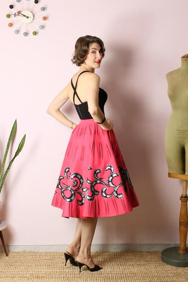 Mexican Handpainted skirt5