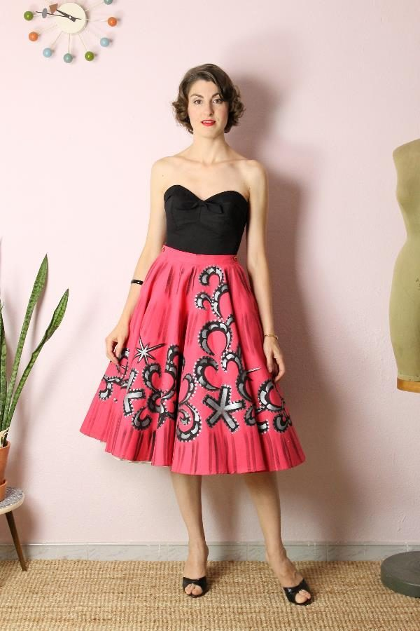 Mexican Handpainted skirt6